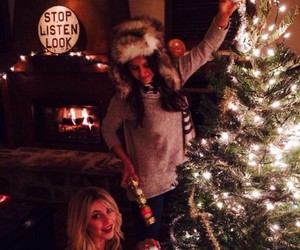 Nina Dobrev, christmas, and tvd image