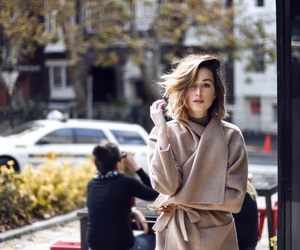 beautiful, brunette, and chic image