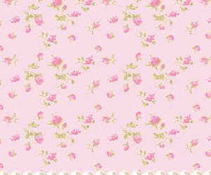 floral, pink, and rosa image