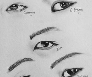 bigbang and eyes image
