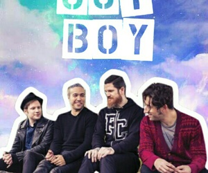 fall out boy, galaxy, and pete wentz image
