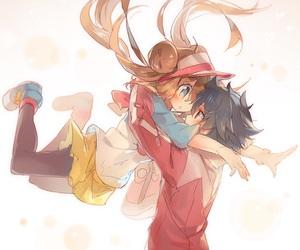 pokemon, anime, and couple image