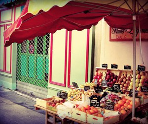 food, france, and fresh image
