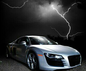 audi, black, and weather image