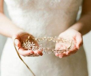 bridal, elegant, and glamour image
