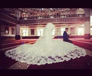 islam, wedding, and couple image