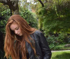 autumn, hair, and red hair image