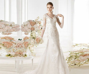 special occasion, slim fit, and wedding gown image