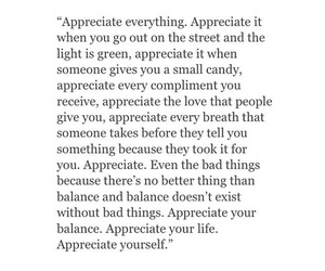appreciate, live, and happiness image