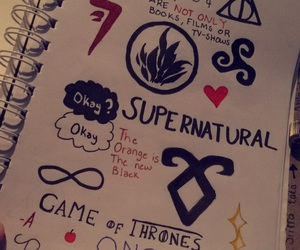 harry potter, supernatural, and teen wolf image