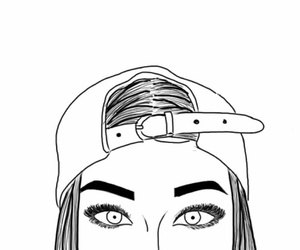 grunge, drawing, and eyebrows image