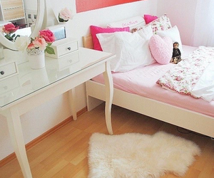 pillows, pink, and white image