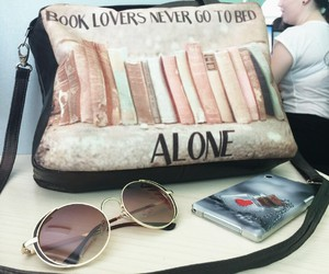 bag, book, and books image