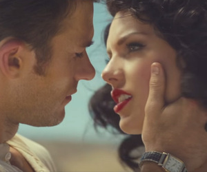 Taylor Swift, red lips, and wildest dreams image