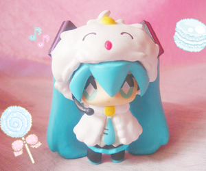 Figure, hatsune miku, and kawaii image