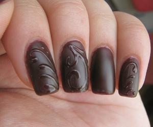 gel, nail, and nail art image