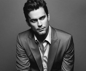 matt bomer, handsome, and black and white image