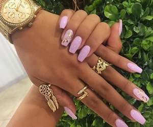 accessories, nail art, and nail polish image
