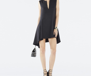 black, dress, and woven image
