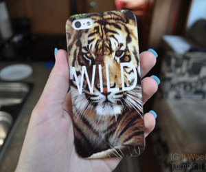 iphone, wild, and case image