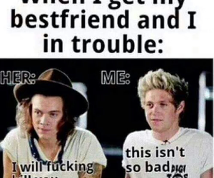 niall horan, Harry Styles, and funny image