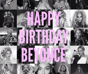 beyoncé, birthday, and mrs carter image