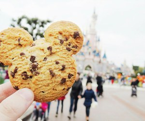 cookie, disney, and food image
