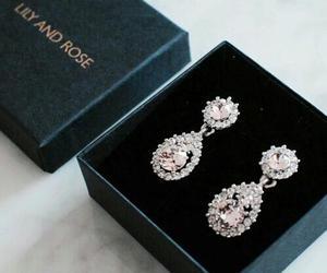 earrings, luxury, and jewelry image