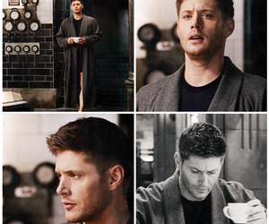 dean winchester, Jensen Ackles, and happy image