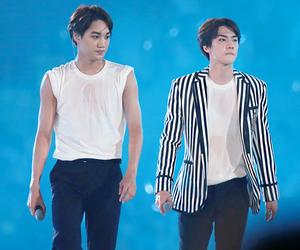 kai, sehun, and kim jongin image