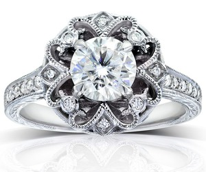 big diamond wedding rings