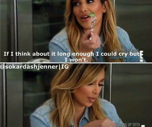 kim kardashian, funny, and cry image