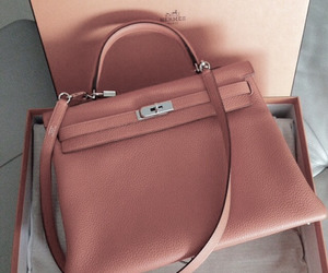 bag, fashion, and hermes image