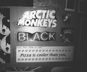 arctic monkeys, black, and grunge image