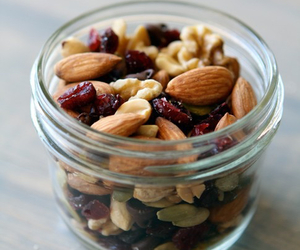 healthy, food, and nuts image