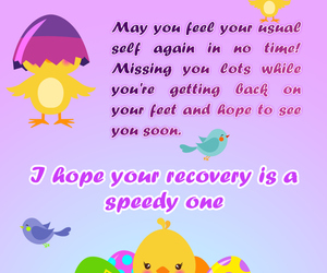 cards, get well soon, and purple image