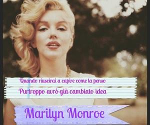 frasi, Marilyn Monroe, and frasi belle image