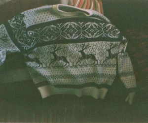 vintage, sweater, and photography image