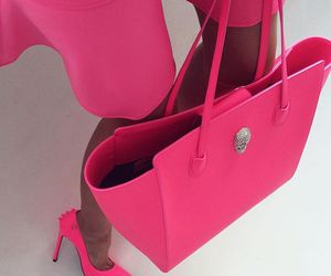 pink, luxury, and bag image