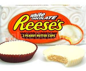 peanut butter cup, white reese's, and 12pack image