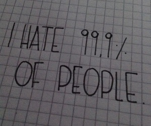 black and white, hate, and people image