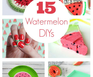 diy and watermelon ideas image