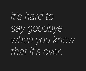 goodbye, love, and friendship image