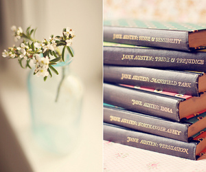 jane austen and books image
