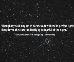 quotes, stars, and poetry image