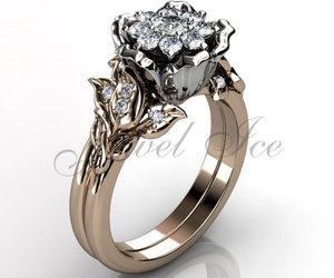 fashion jewelry, vintage jewelry, and engagement ring image