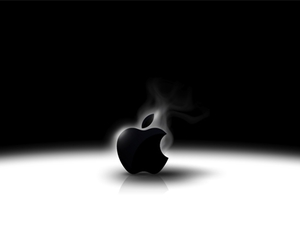 apple, mac, and wallpaper image