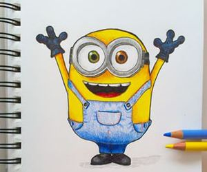 cartoon and minions image