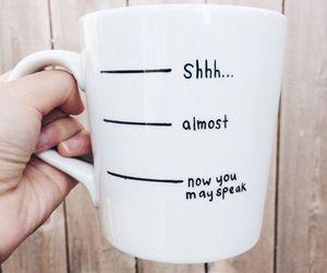coffee, morning, and mug image