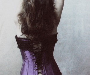corset, corpet, and corselet image